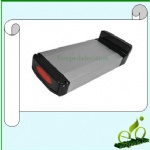 Lithium 24V10AH li-ion e-bike rack-battery with best quality and high performance